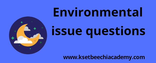environmental-issue-mcq-ntanet