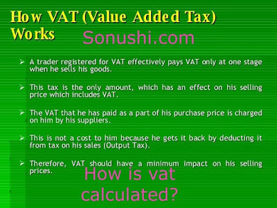 How is VAT calculated