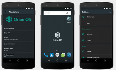 Orion OS ROM