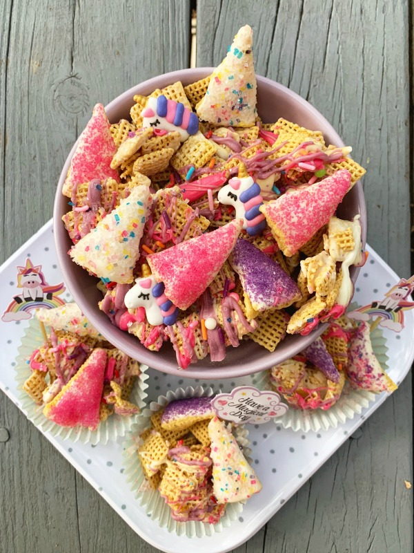Unicorn Chex Mix