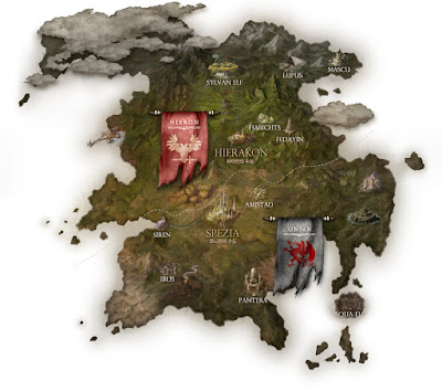 World map bless online