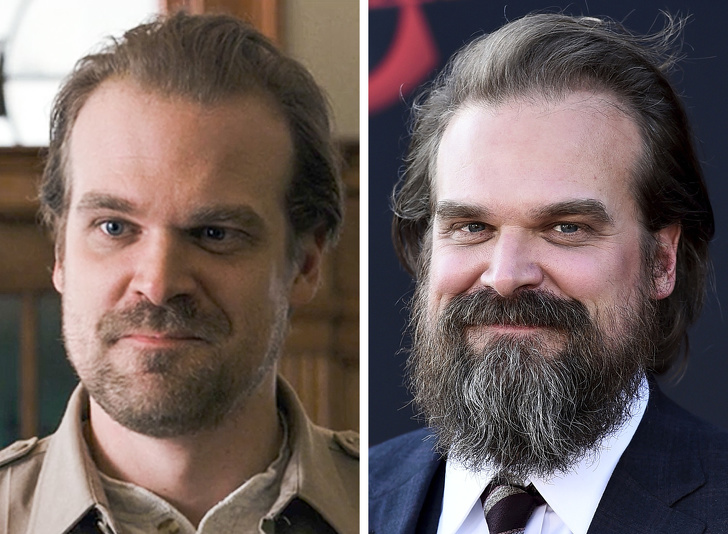David Harbour (Jim Hopper)