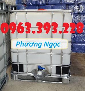 Bồn nhựa 1 khối đã qua sử dụng, Tank nhựa IBC cũ, bồn chứa nước 1000L 14568010_1212658298796989_3248816622604390779_n