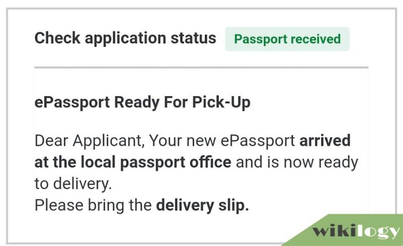 Passport Received