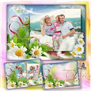 Photo frame família