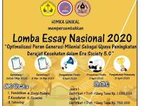 Lomba Menulis Essay Nasional 2020 di HIMKA UNIKAL