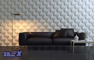 3d decorative wall panels, Modern 3d wall panels, 3d PVC wall panels