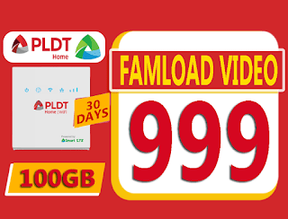 Famload Video 999 – 100GB Data for 30 Days