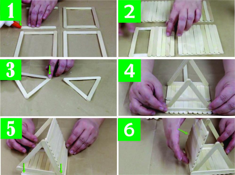Cara Membuat Rumah Dari Stik Es Krim Beserta Gambarnya Informasi
