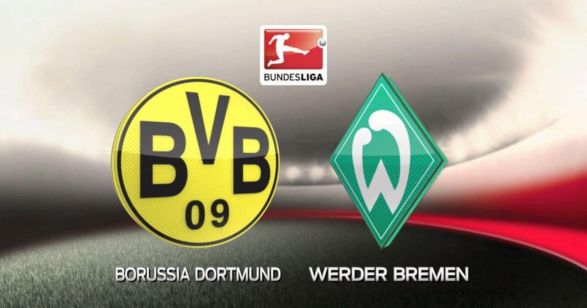 مباراة بوروسيا دورتموند وفيردر بريمن اليوم