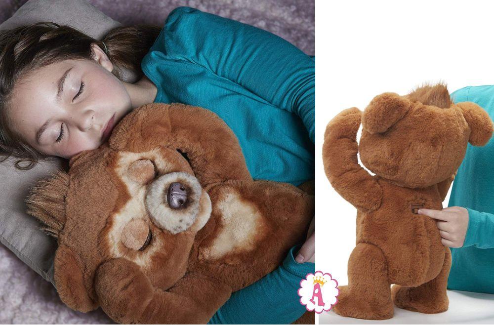 Большой медвежонок FurReal Friends Cuddy с режимом ночного сна