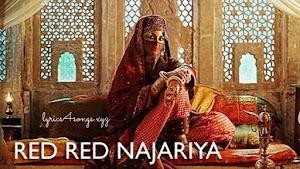 RED RED NAJARIYA LYRICS – Laal Kaptaan | Saif Ali Khan