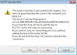 security Key in Putty