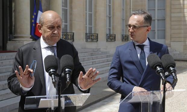 ایران کے معاہدے کو بچانے کے آخری کوشش میں برطانیہ، فرانس اور جرمنی