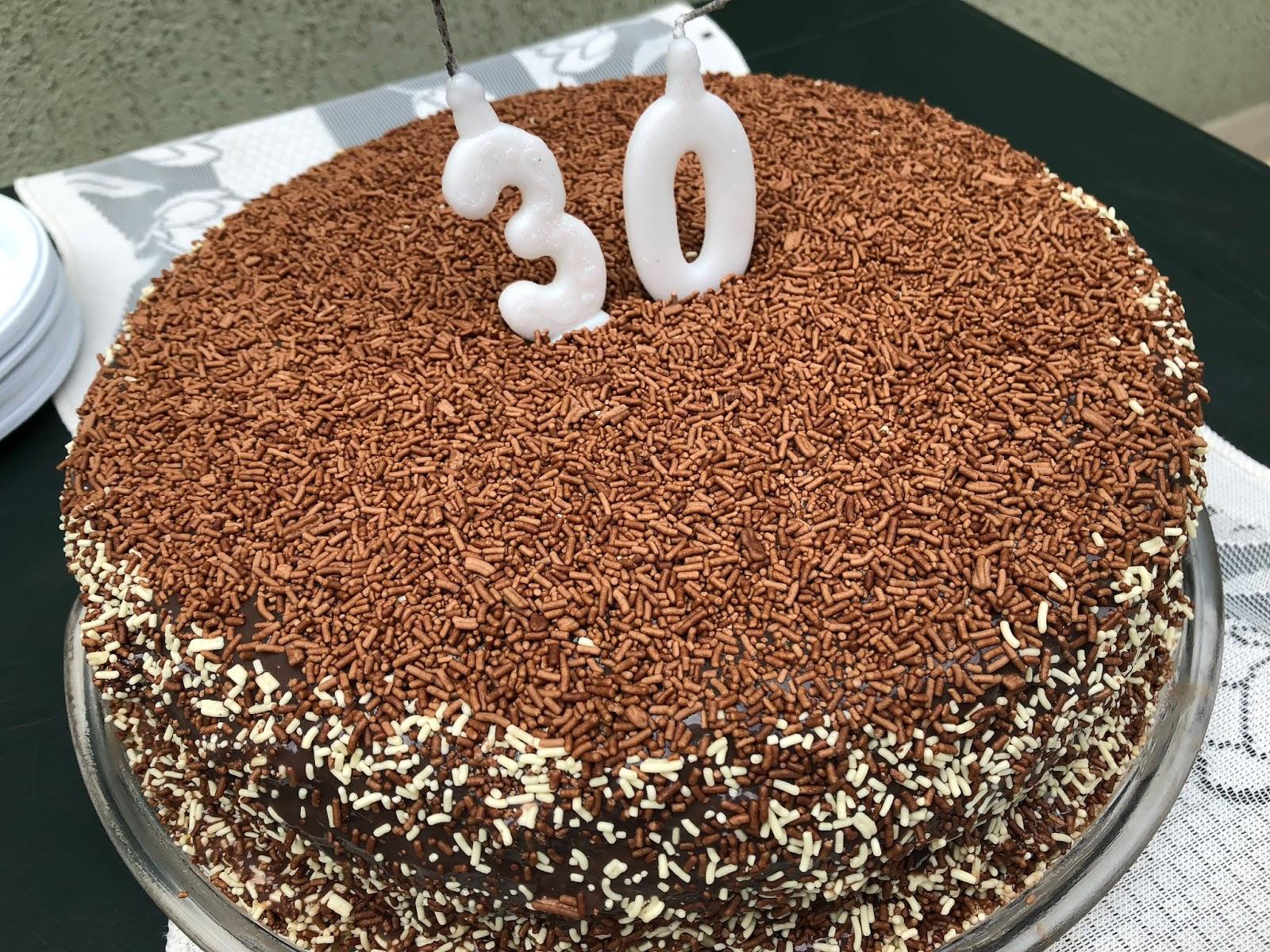 Aniversário de 30 anos do Rodolfo!