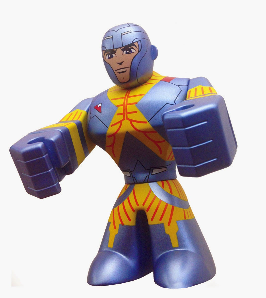 X-O Manowar Valiant Entertainment Urban Vinyl Figures by CKRTLAB Toys