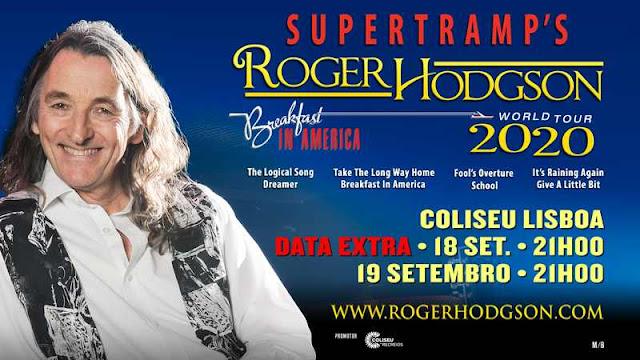 Roger Hodgson dos Supertramp no Coliseu de Lisboa 18 E 19/09