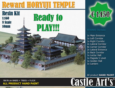 Reward Horyuji Temple Ready To Play