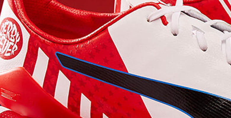071306730 Puma evoSPEED Antoine Griezmann Derby Fever Boots Released