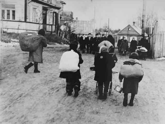 Kovno Small Ghetto Action 4 October 1941 worldwartwo.filminspector.com