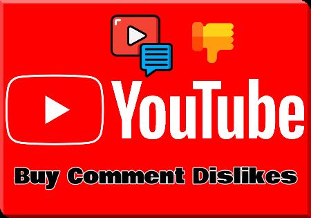 Buy YouTube Comment Dislikes