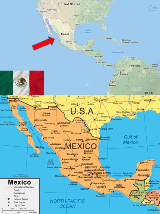 Letak Astronomis Meksiko : letak, astronomis, meksiko, Profil, Negara, Meksiko, [+Gambar, Lengkap]