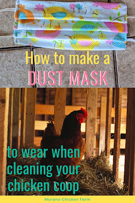 Make a coop cleaning dust mask. pattern