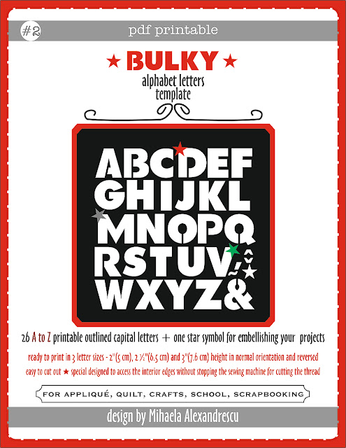 abeeautifulday.blogspot.com-Bulky Alphabet Letters Template