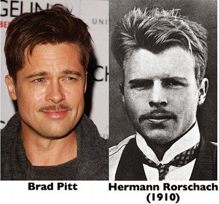 Brad Pitt dhe Herman Rorschach