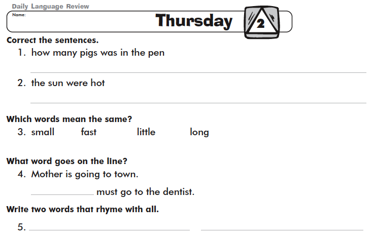 Daily Oral Language Activities Sex Archive