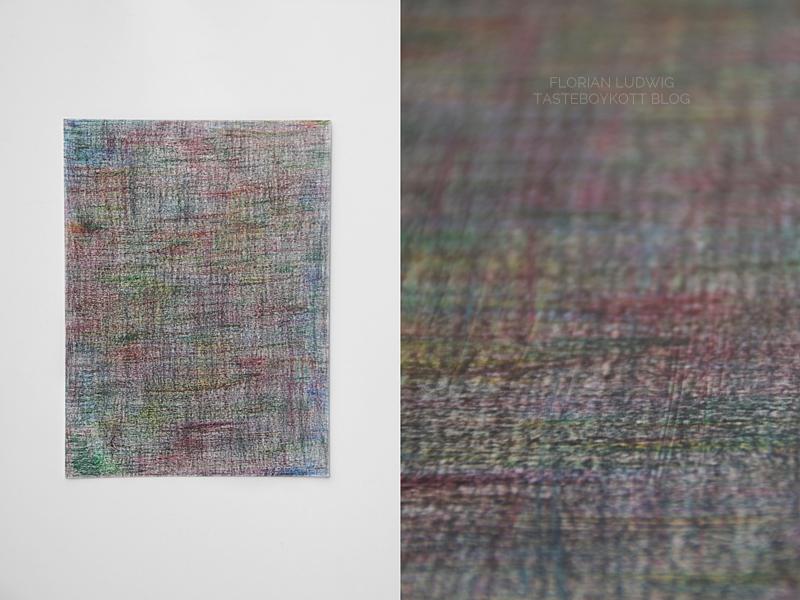 Abstrakte bunte DIY Kunst Auquarellstifte auf Aquarellpapier selbermachen. Minimalismus, Kunst & Kreativität statt Konsum