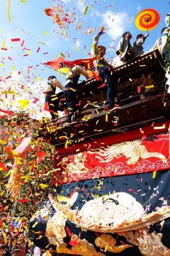 Koromo Matsuri (float parade), Toyota City, Aichi Pref.