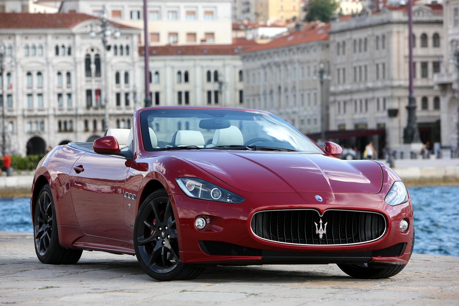 The New Maserati GranCabrio Sport