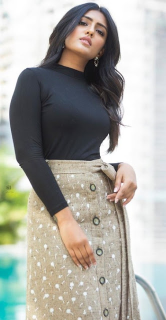 Eesha Rebba Stunning in Black Dress