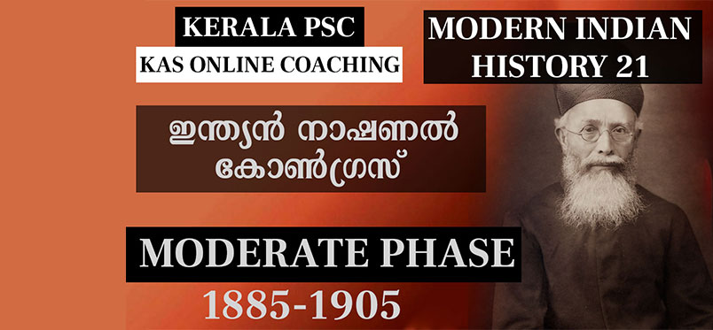 History of INC and Moderate Phase