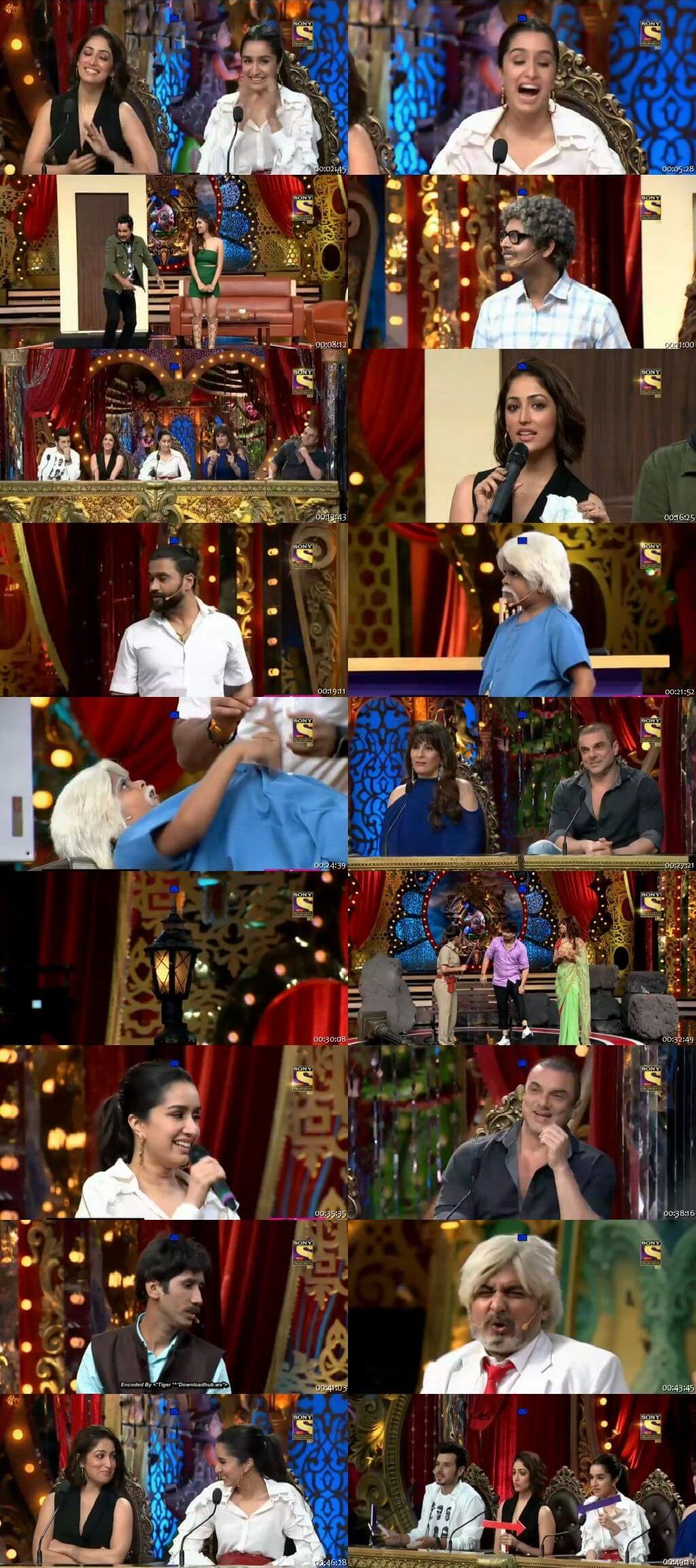 Screen Shot Of Comedy Circus 16th September 2018 Episode 03 300MB Watch Online