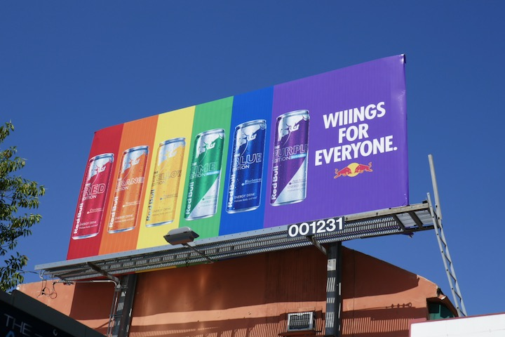 Wings for Everyone Red Bull Editions billboard