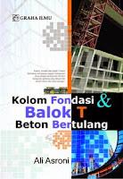 Kolom Fondasi & Balok T Beton Bertulang