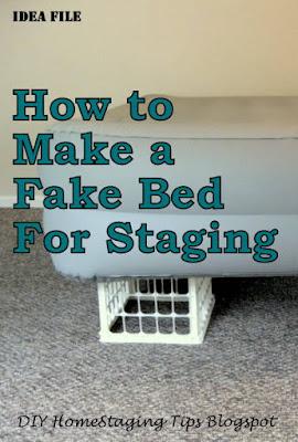 Diy Home Staging Tips Bedroom Staging Diy Headboard And  DIY Home Staging Tips: October 2011