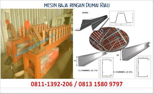 mesin baja ringan Dumai Riau