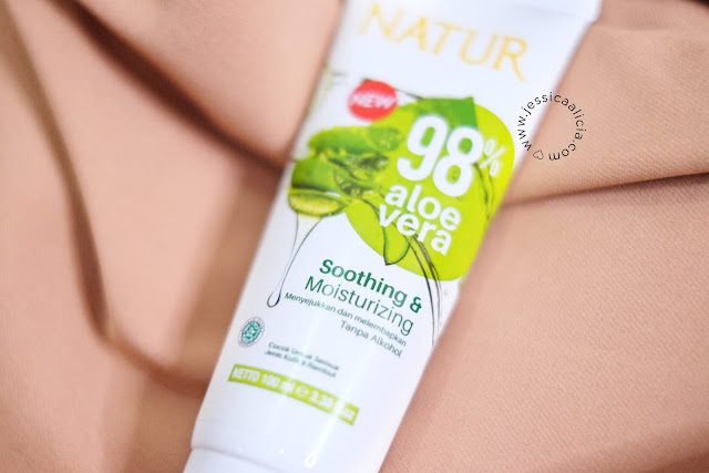Review : Natur Aloe Vera Sleeping Mask by Jessica Alicia