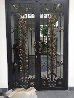 Pagar Klasik, Pagar Mewah, Pagar Antik, Gerbang Pagar, Pintu Besi Tempa