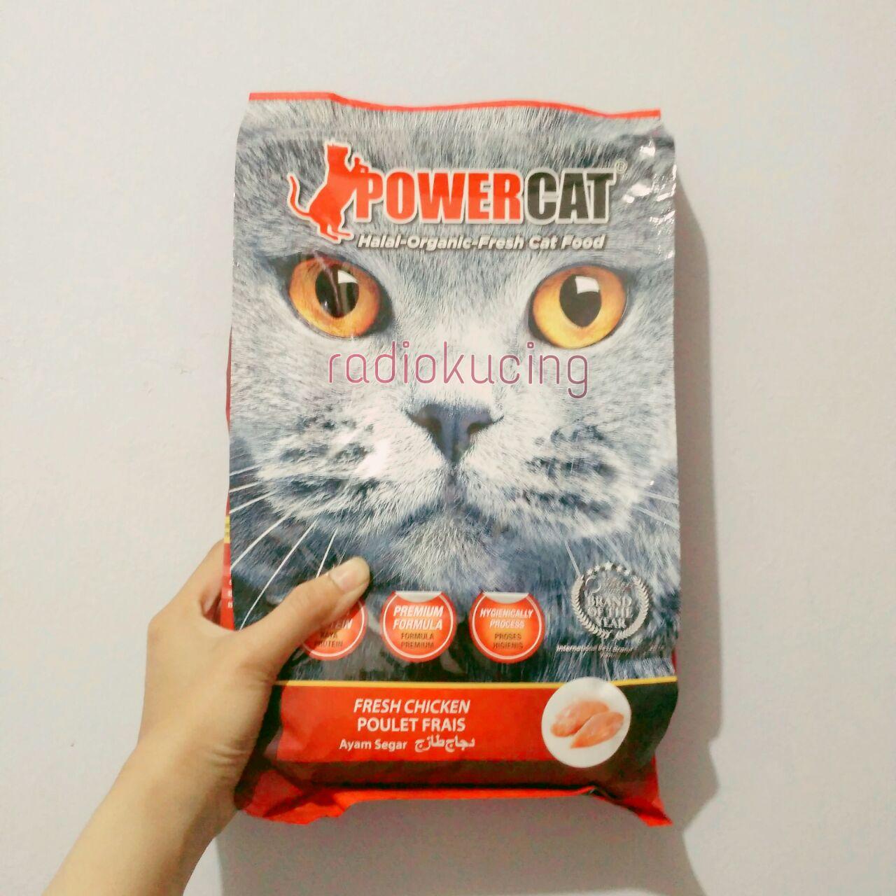 Review Makanan Kucing Power Cat Chicken Radiokucing Com