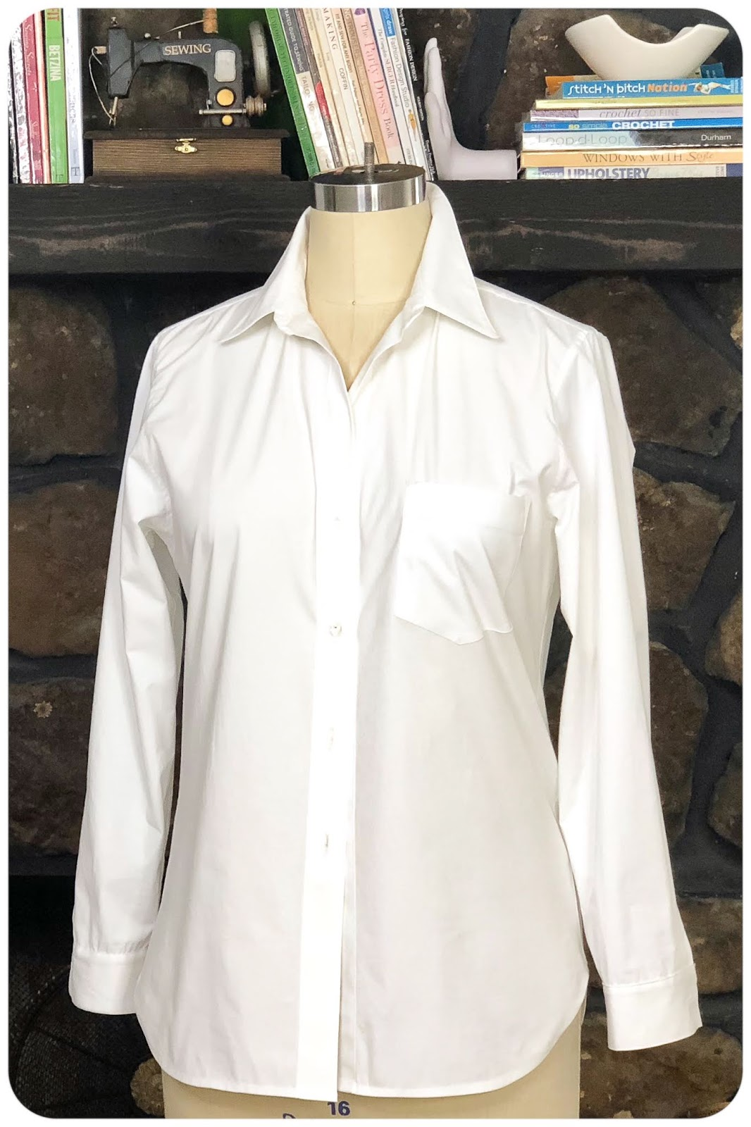 The Classic Button Up Shirt Sew-Along at BERNINA's WeAllSew Blog - Hosted by Erica Bunker