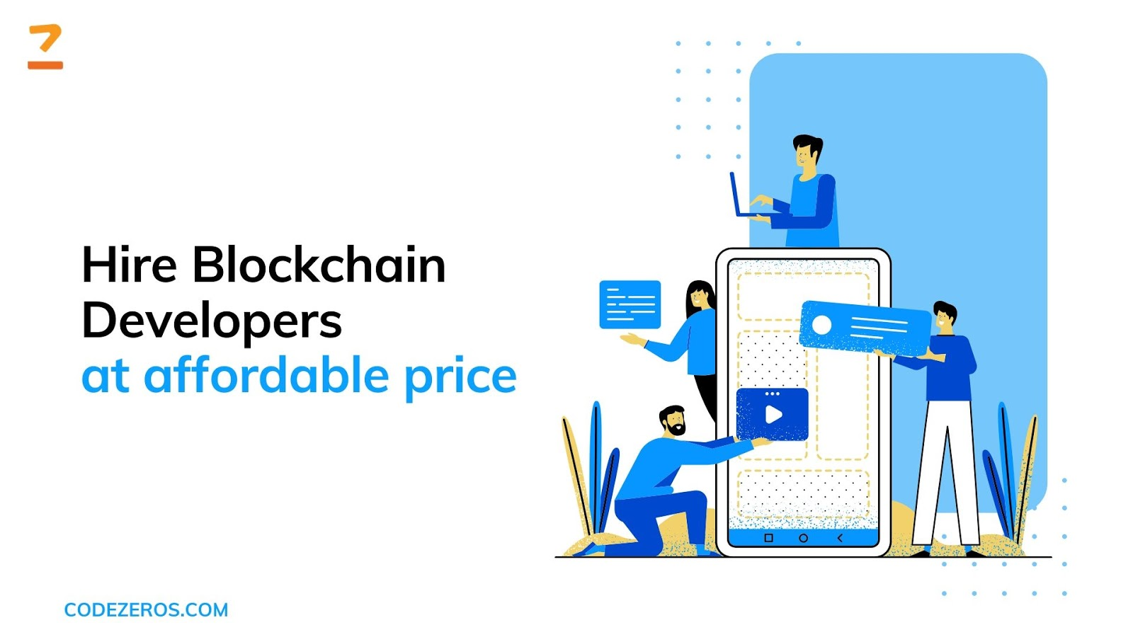Hire Blockchain Developers at affordable price