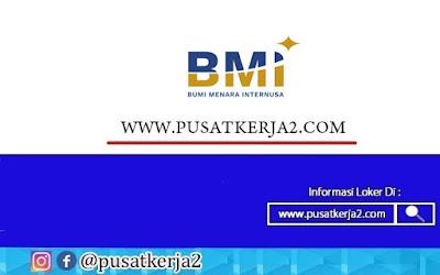 Lowongan Kerja Surabaya PT Bumi Menara Internusa Oktober 2020