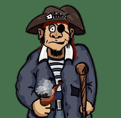 जाने समुद्री डाकू एक आंख पर काली पट्टी क्यों लगाते हैं-The Pirate Fact In Hindi