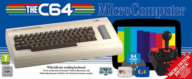THE C64 Commodore 64 a grandezza naturale