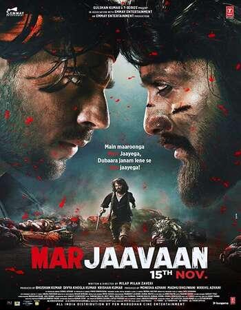Marjaavaan 2019 Hindi Movie 720p HDRip 900MB ESubs Download