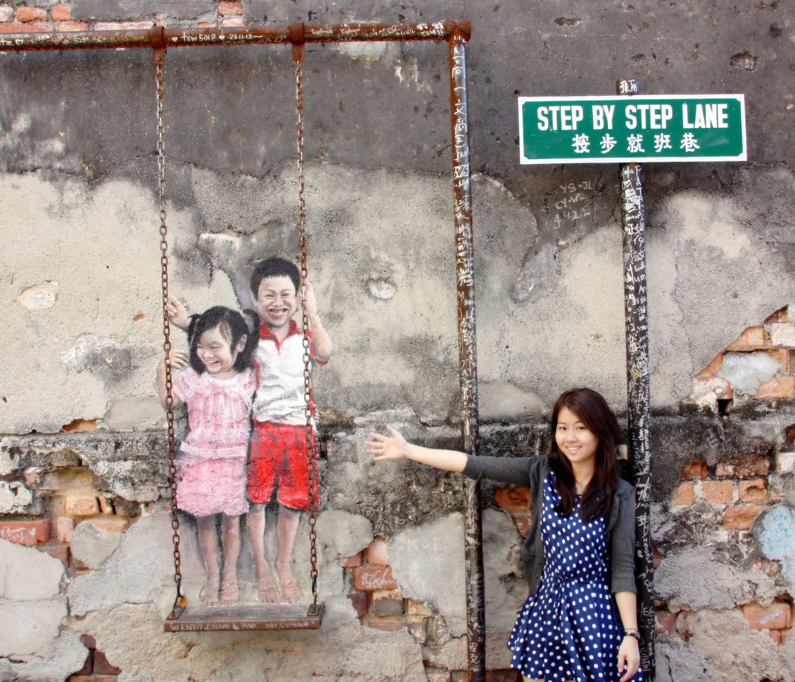 Swing Chair Penang Pottery Barn Kids Carolynn Wong  Street Art Shooting